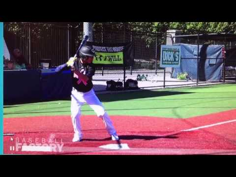 GameTime Recruiting's Dalton Strickland 2020 SS/CF/RHP Loganville Christian Academy