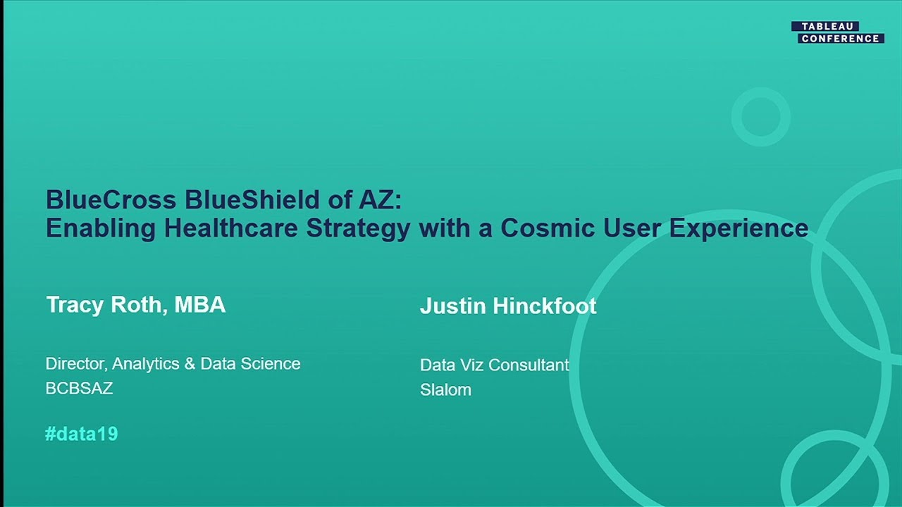 Bluecross Blueshield Of Az Enabling Healthcare Strategy With A Cosmic User Experience Youtube