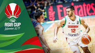 Lebanon v Philippines - Classification 5-8 - Full Game - FIBA Asia Cup 2017