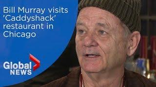 Bill Murray visits his