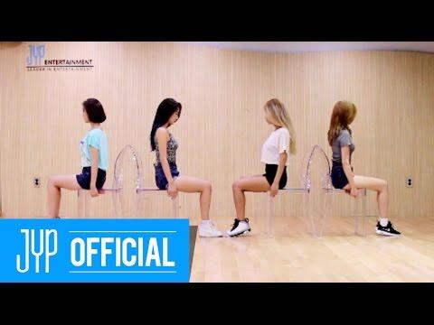 """Wonder Girls """"Rewind"""" Dance Practice"""