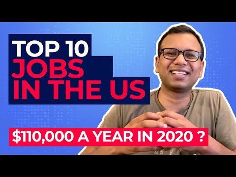 Top 10 Highest Paying Jobs In The USA 2020