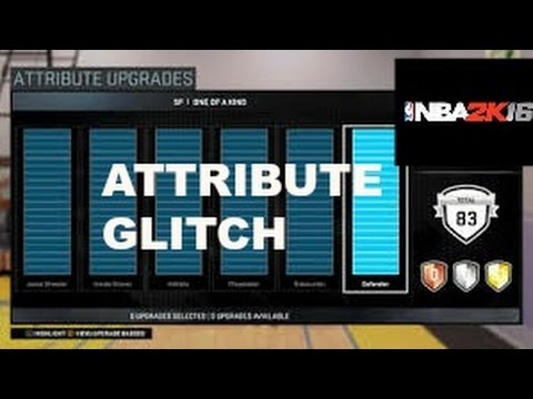 New Nba 2k16 Attribute Glitch Nba 2k16 Attribute Exploit Youtube