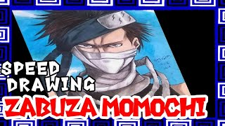 Speed Drawing- Zabuza  Momochi (Naruto)