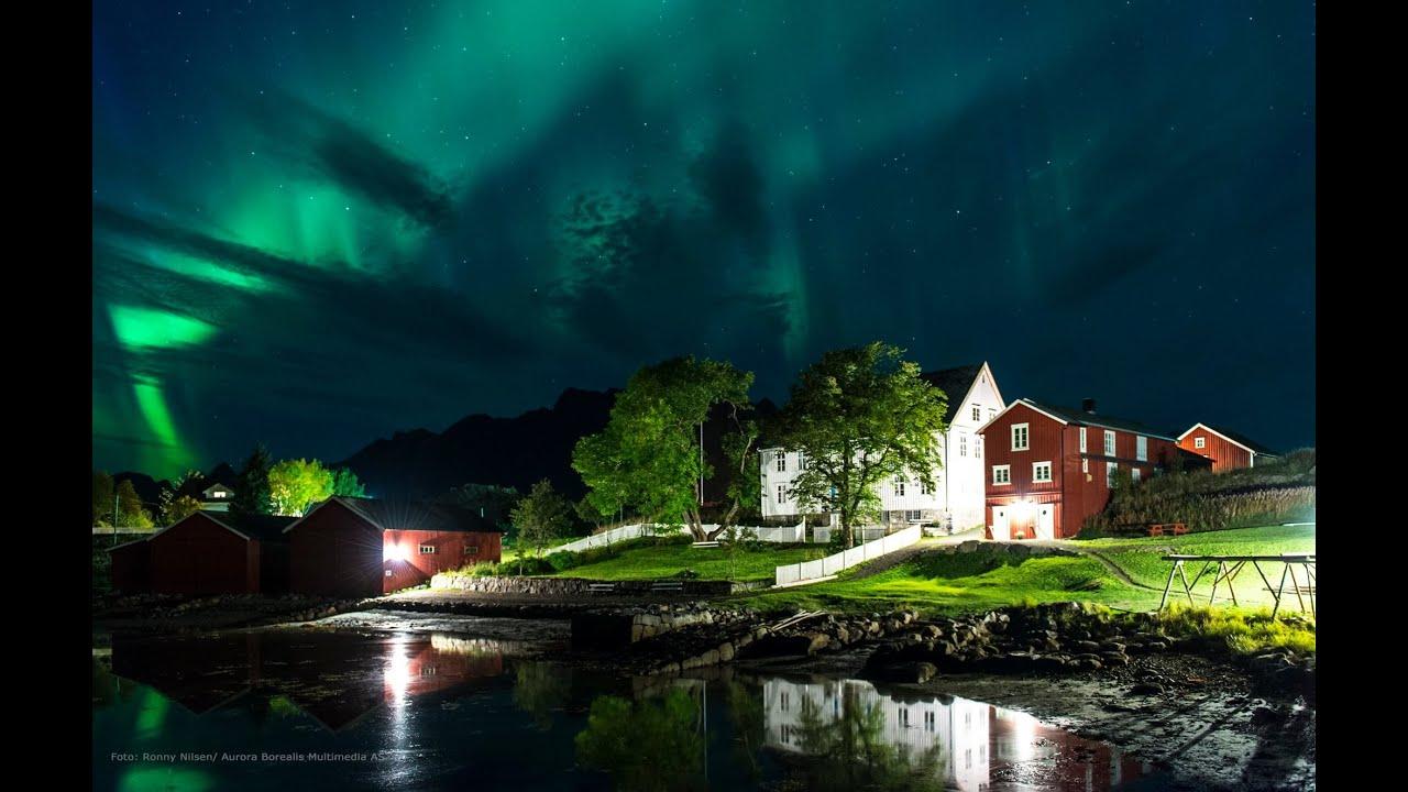 Timelapse Of The Aurora Borealis The Amazing Northern