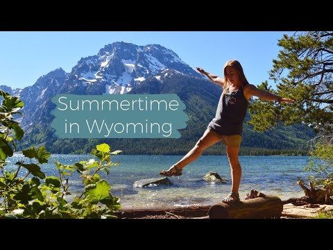 Summertime in Wyoming