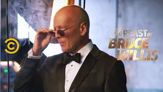 Bruce Willis and Jeff Ross Gear Up for the Roast - Roast of Bruce Willis - Uncensored