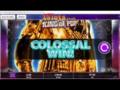 First Look, Michael Jackson King of Pop online slot game, compilation of all features..