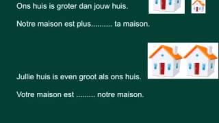 Vergelijkingen Frans plus que