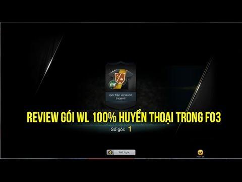 Review gói 100% Huyền Thoại World Legend