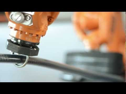 Robotic Manipulation of carbon-fibre reinforced tubes for new automotive applications