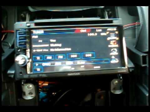 Kenwood Navigation Install Part 2 of 2AVI - YouTube