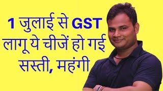 Kis Products pe kitna % lagega GST | 0%, 5%, %12, 18%, 28% | GST से क्या होगा सस्ता और क्या महंगा