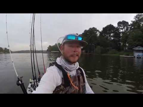 CRAZY Shallow Bass Fishing In East Texas