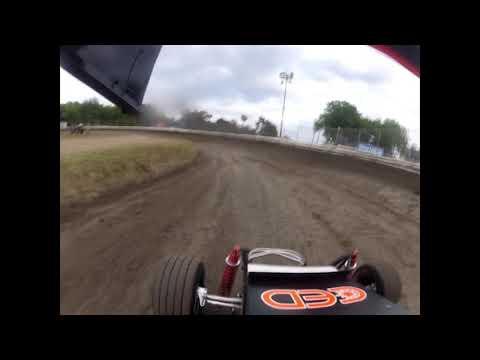 Plaza Park Raceway 5-10-19 Jr Sprint Qualifying Ty GoPro