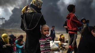 أخبار عربية | إستمرار موجة النزوح من الموصل وسط موجة برد قارسة