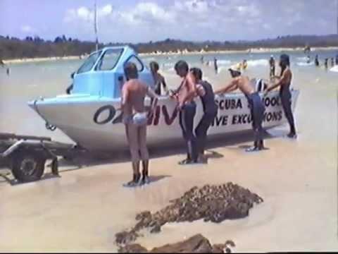 Scuba diving byron bay 1985 youtube - Dive byron bay ...