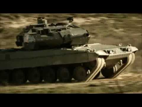 2010 M1 Abrams Vs Leopard 2 Tank Trailer [HD]