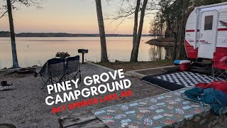 Piney Grove Campground, Bąy Springs Lake Mississippi