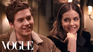 Dylan Sprouse & Barbara Palvin's Dinner Date | Vogue