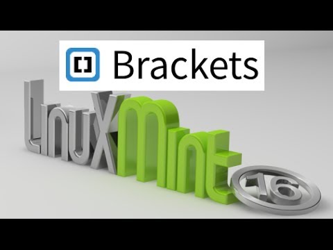 Brackets For Linux Mint (Ubuntu) : An Open Source Code Editor For HTML, CSS & Javascript