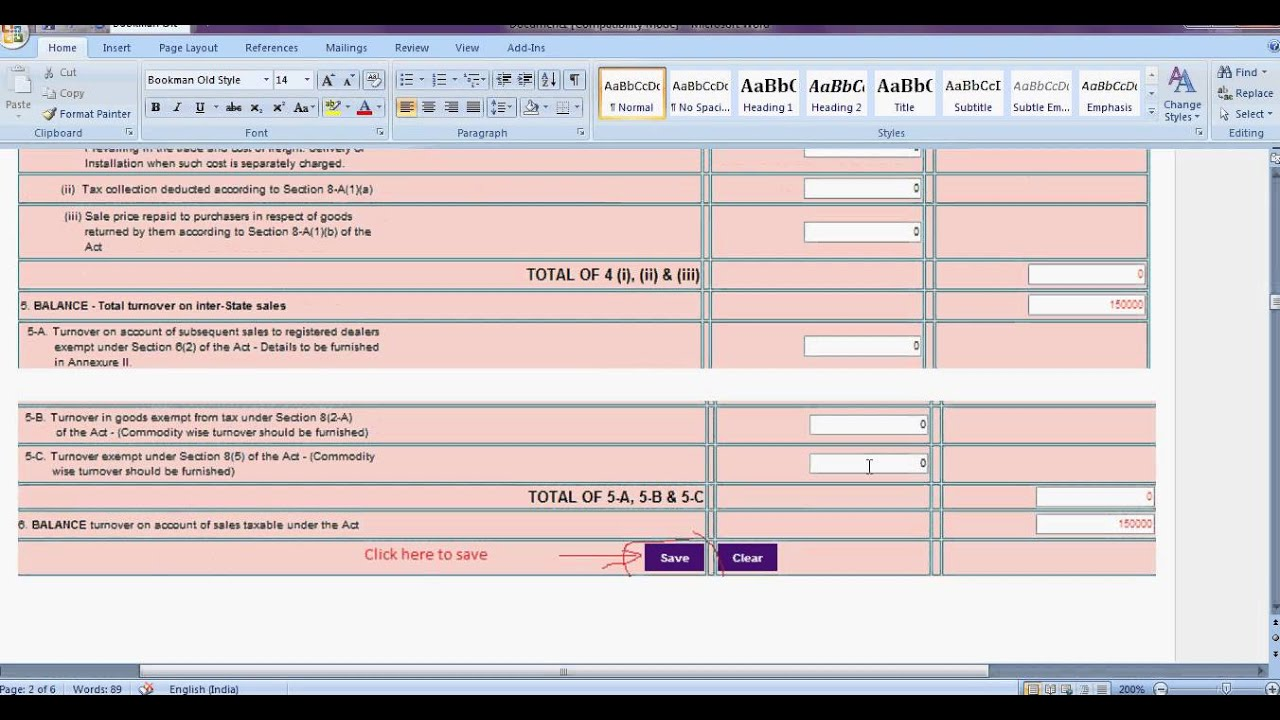 how to work out vat from total