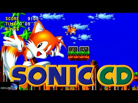 Sonic CD - Tails Good Ending playthrough