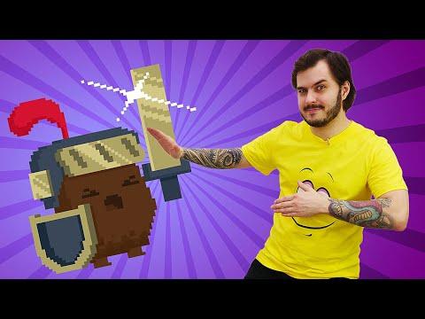Видео игра Enter the Gungeon - В подземелье с Рыцарем! - Летсплей Оружелье, часть 2.