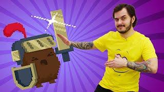 Видео игра Enter The Gungeon - В подземелье с Рыцарем - Летсплей Оружелье часть 2.