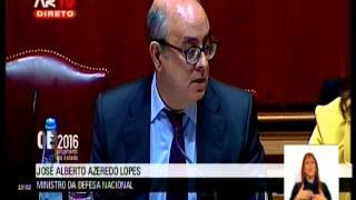 Debate na Especialidade OE2016 Audição Ministro da Defesa Nacional – Azeredo Lopes