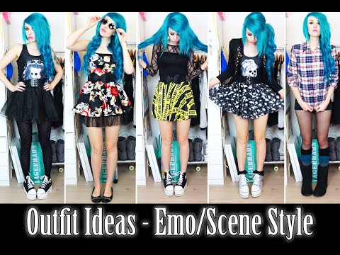 7 outfit ideas alternative scene style youtube