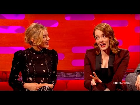 Emma Stone and Sienna Miller Compare
