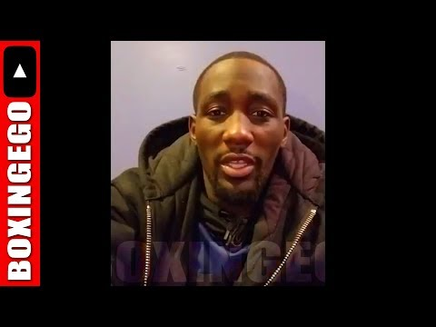 TERENCE CRAWFORD MESSAGE TO JEFF HORN