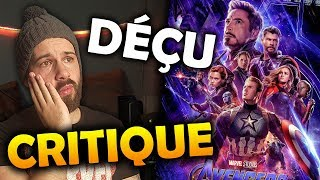 AVENGERS ENDGAME - CRITIQUE