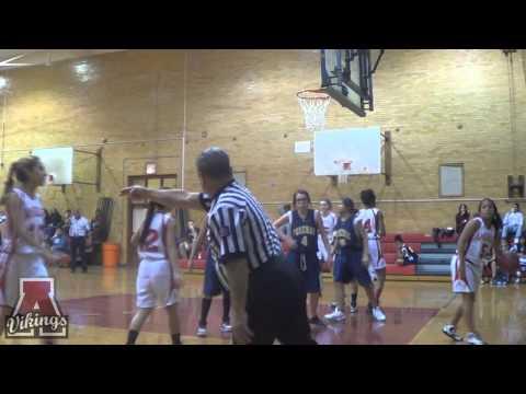 Amundsen High School Girls Basketball Game November 21, 2013.