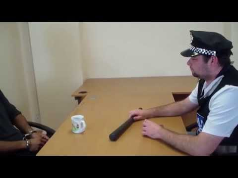 Hacker Arrested & Questioned by English Police Officer - Cop