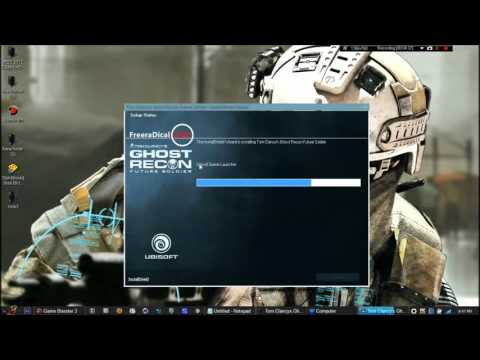 How to Download and install Tom Clancys Ghost Recon Future Soldier Pc    YouTube: All types of link are available for downl No client needed   2- install the game  3- copy paste the crack in the game folder  enjoy  IMPORTANT-YOU CAN TYPE ANYTHING AS PASSWORD