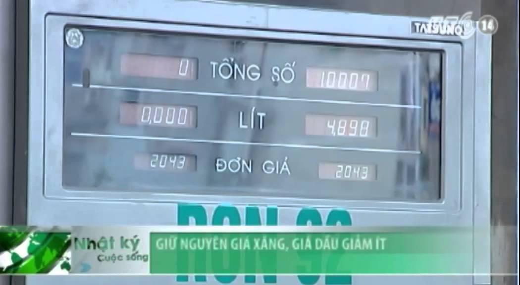VTC14_Giữ nguyên giá xăng, giá dầu giảm ít