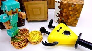 Играем в Майнкрафт и Гравити Фолз. Ловушка для Билл Шифра!