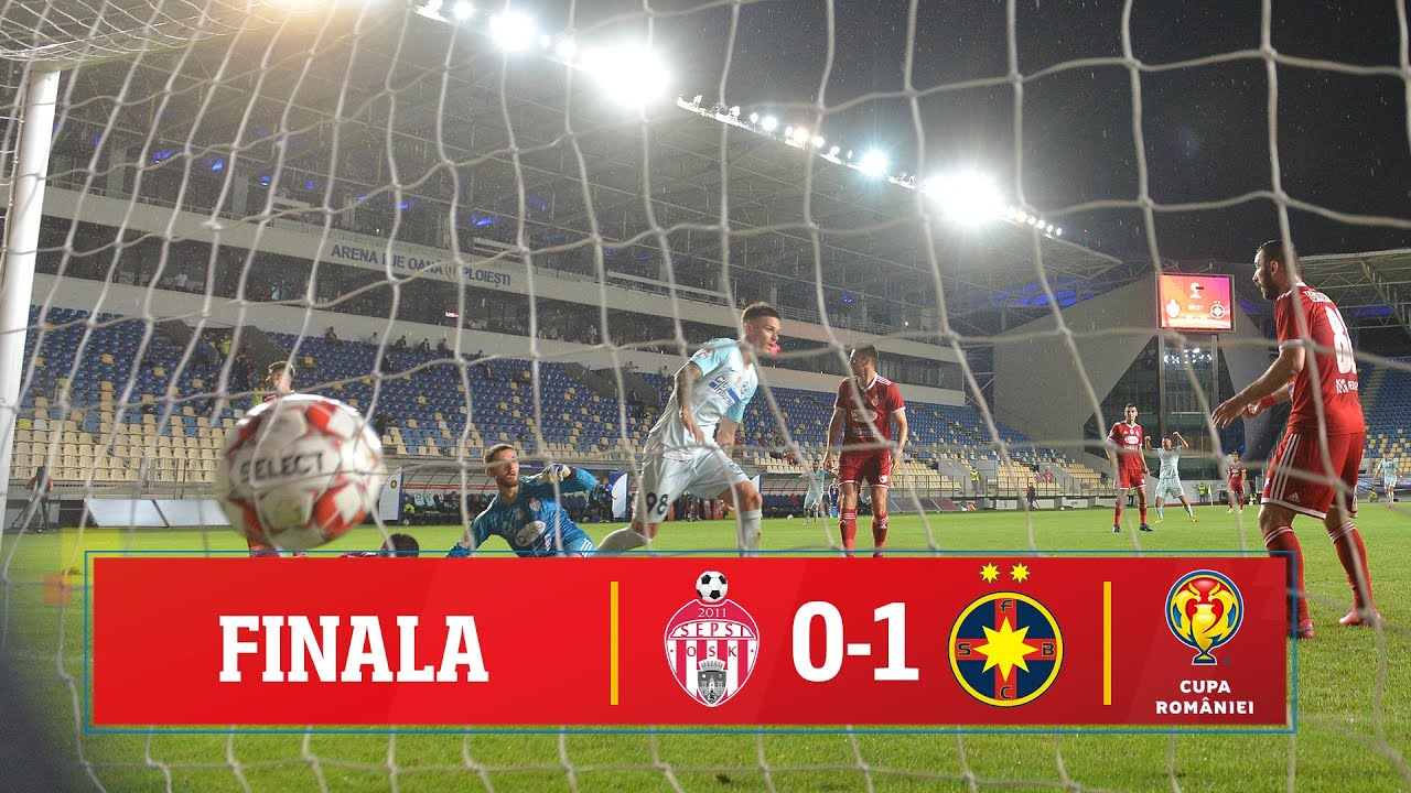Finala Cupei României: Sepsi - FCSB 0-1