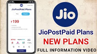 Jio PostPaid New Plans Available Full  Information | Jio Lunching Postpaid Plans | Reliance Jio.