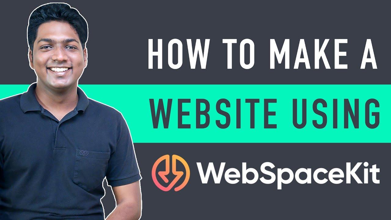 How To Make A WordPress Website Using WebSpaceKit