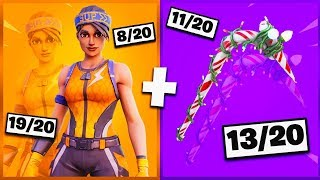🔥 I NOTE YOUR 20 TRYHARD SKIN COMBOS ON FORTNITE! v10