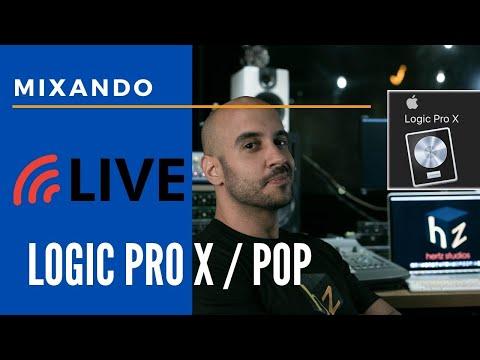 Live #Mixagem ao Vivo EP 4 #Logic Pro + #Collab Áudio