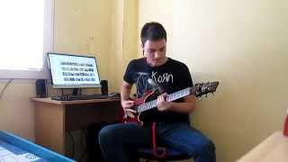 Mudvayne - Internal Primates Forever (Guitar Cover)