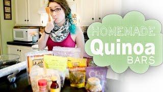 Yummy Quinoa Granola Bars!
