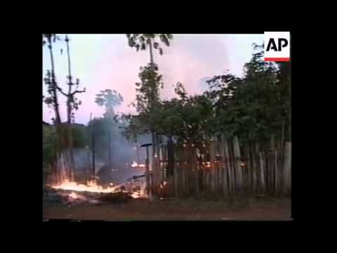 MYANMAR: KAYAH STATE: REBELS & TROOPS CLASH