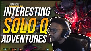 INTeresting Solo Q Adventures | Aphromoo Thresh