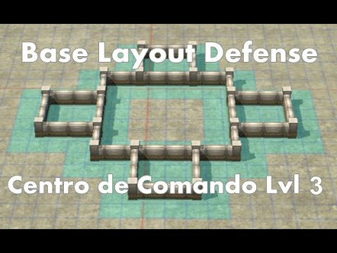 Call of Duty: Heroes - Command Center Level 3 - Best Base Layout ...