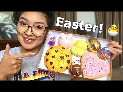 Rare Squishy Giveaway : SQUISHY PACKAGE Easter Giveaway - DLYak Video